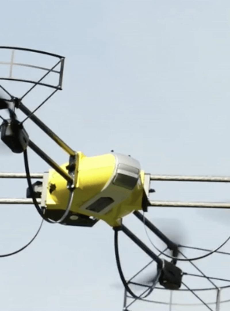 Opération drone